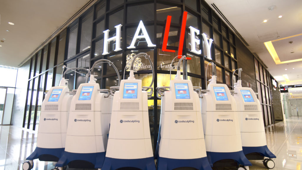 halley medical aesthetics, dr terence tan, coolsculpting, quadsculpting, fat freezing, fat removal, fat reduction, fat cells, coolsculpting with halley
